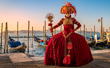 Venice Carnival and Dance Photography Workshop