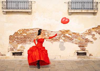 Dance photography workshop at the Venice Carnival